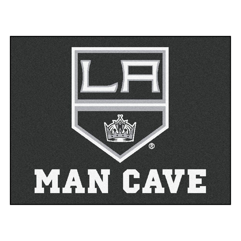 Los Angeles Kings Black Man Cave 2 ft. 10 in. x