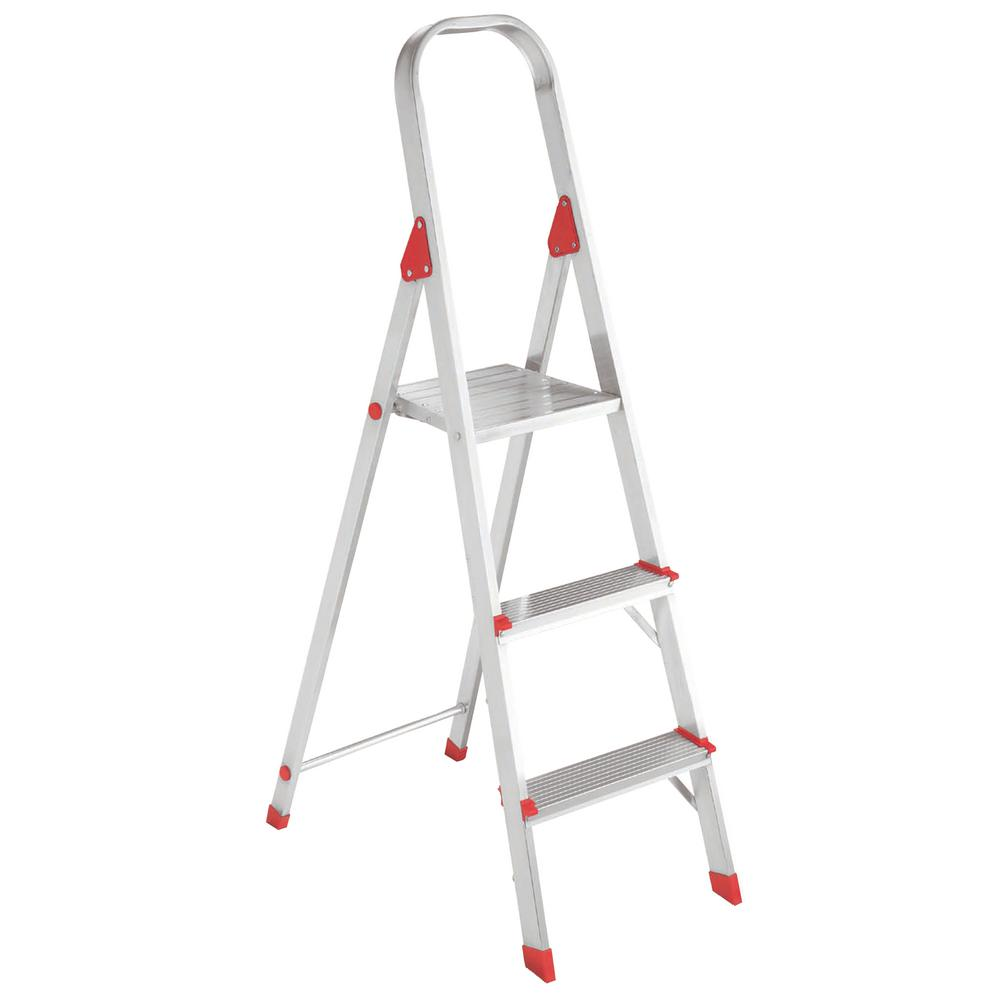3 ft. Aluminum Platform Step Stool with 200 lbs. Load Capacity