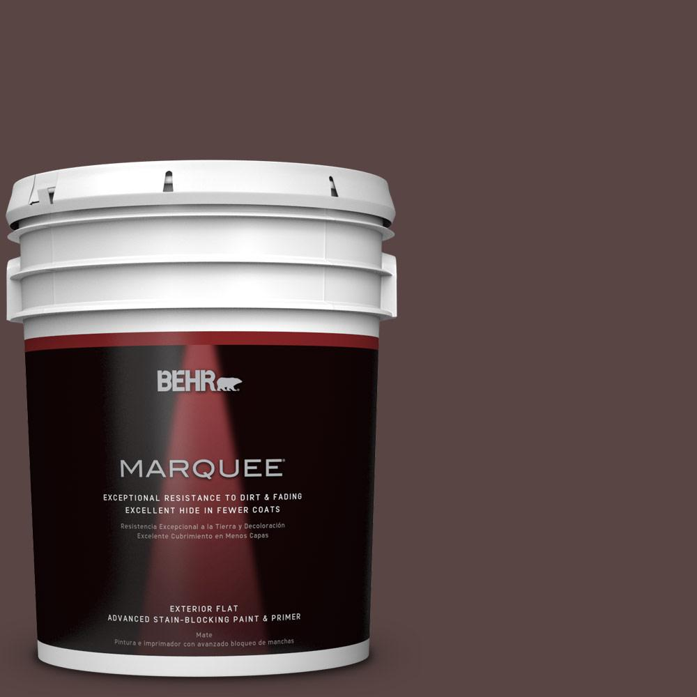 BEHR MARQUEE 5-gal. #S-G-790 Bear Rug Flat Exterior Paint