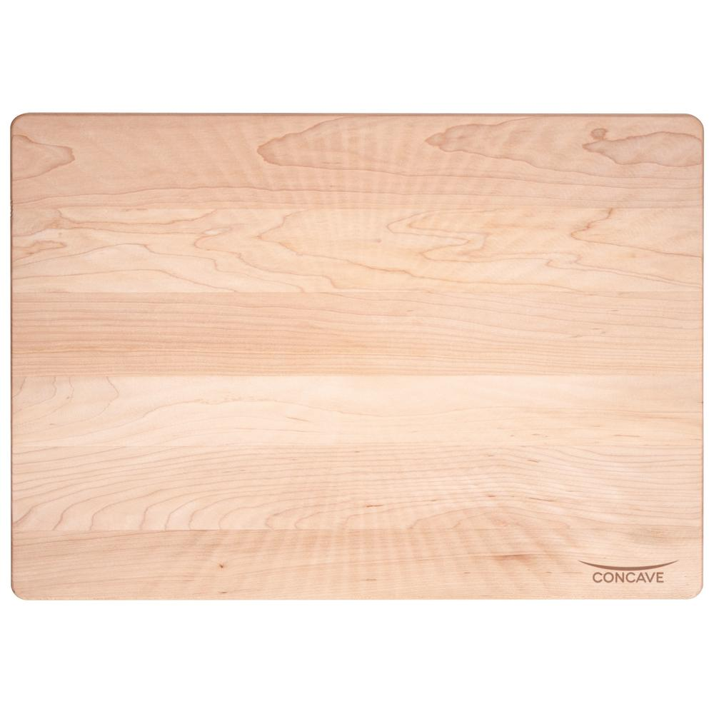 Concave Maple Cutting Board