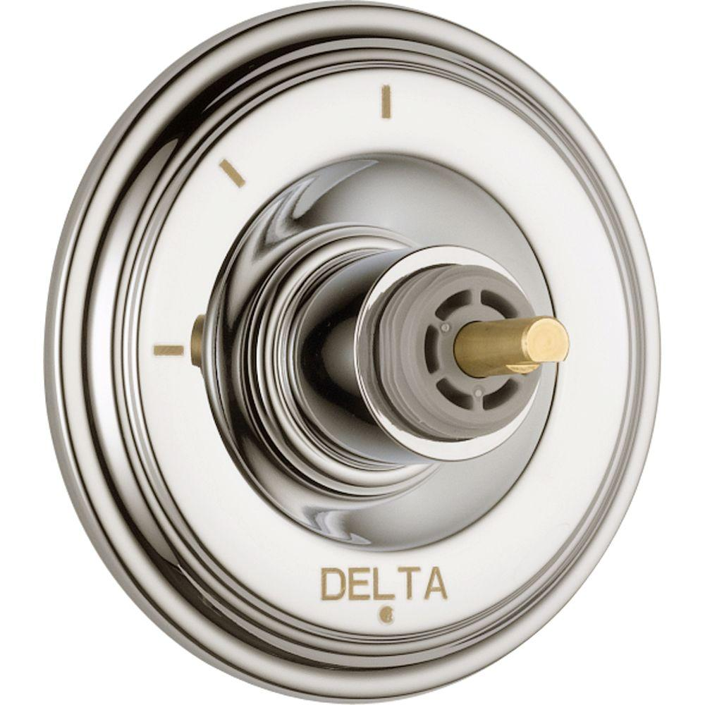 Delta Cassidy 3-Function Diverter Trim Kit Only in Polished Nickel (Valve