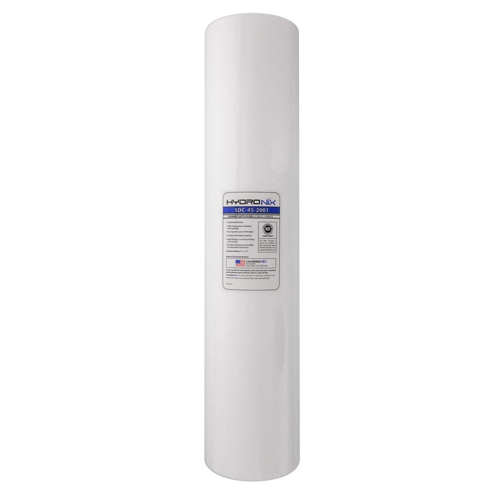 20 in. x 4-1/2 in. Whole House Replacement Sediment Filter Cartridge