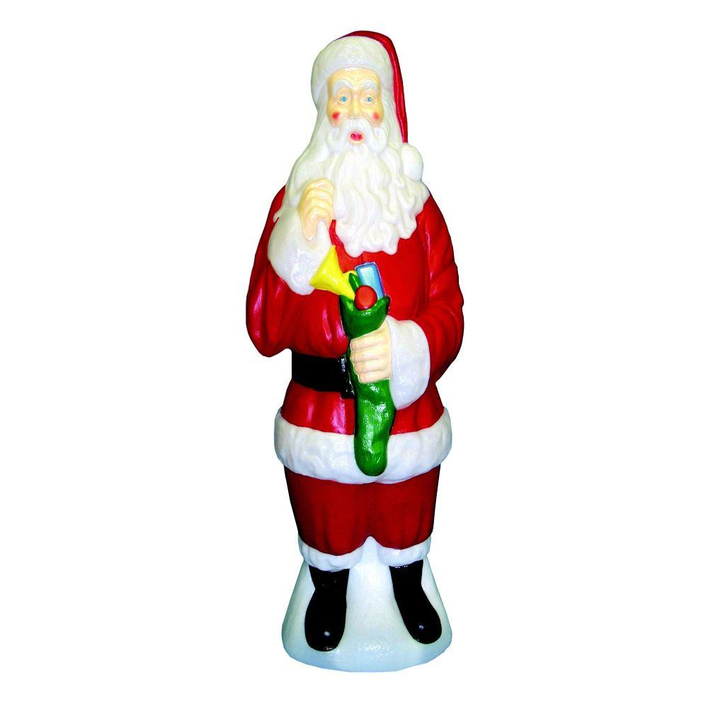 General foam holiday ornaments decor 40 in traditional for Home depot christmas decorations 2013