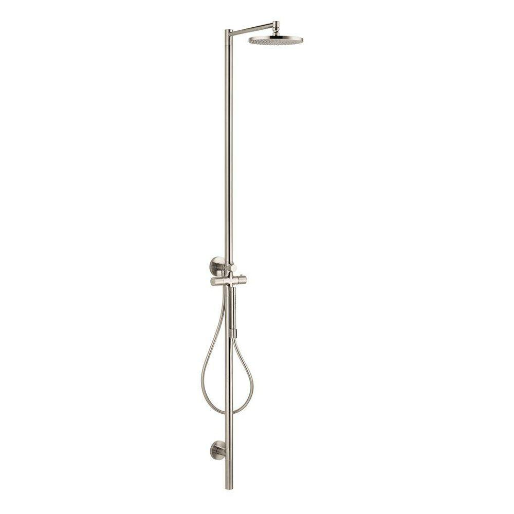 Hansgrohe Axor Starck Brushed Nickel Shower System-DISCONTINUED