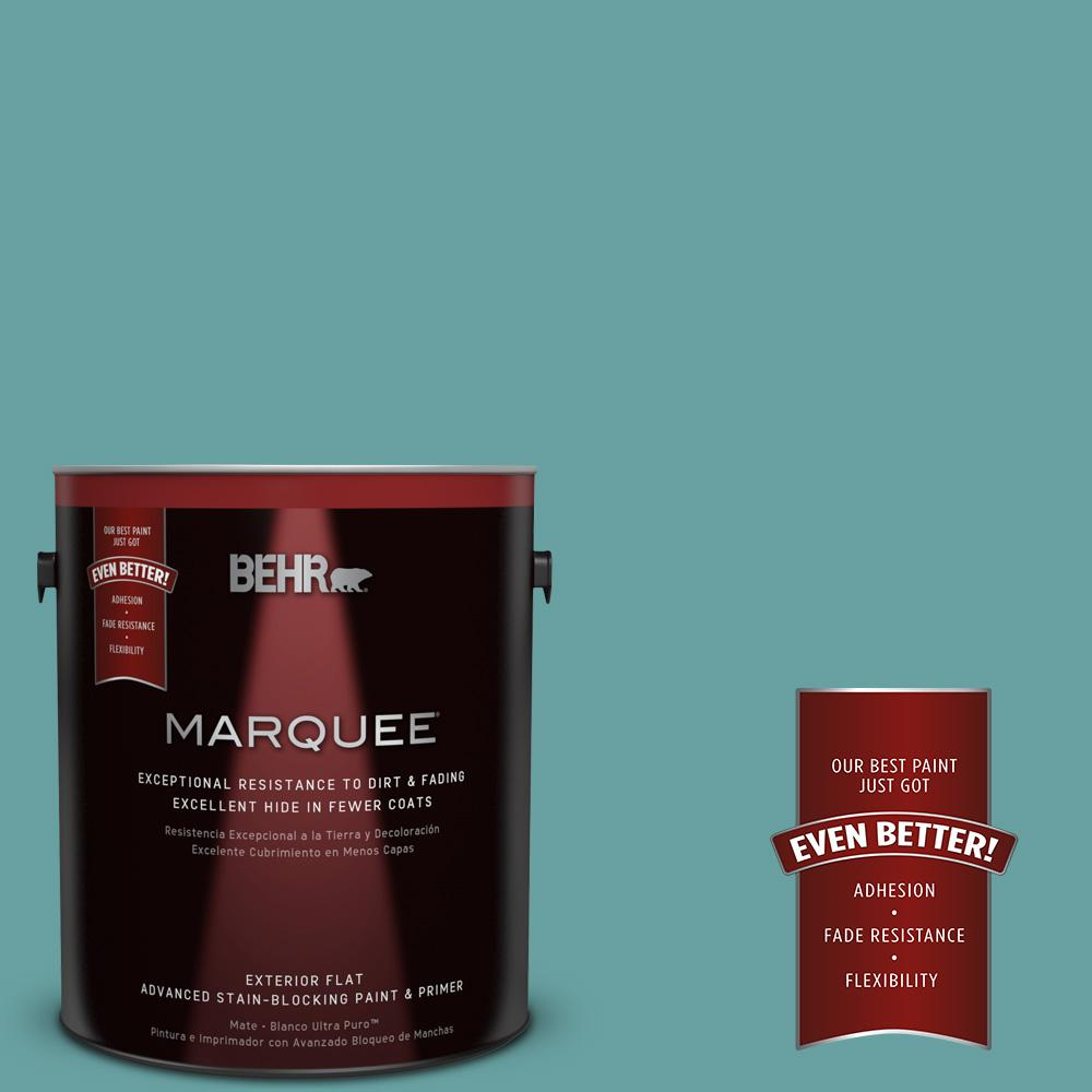 1-gal. #T13-20 Folk Song Flat Exterior Paint