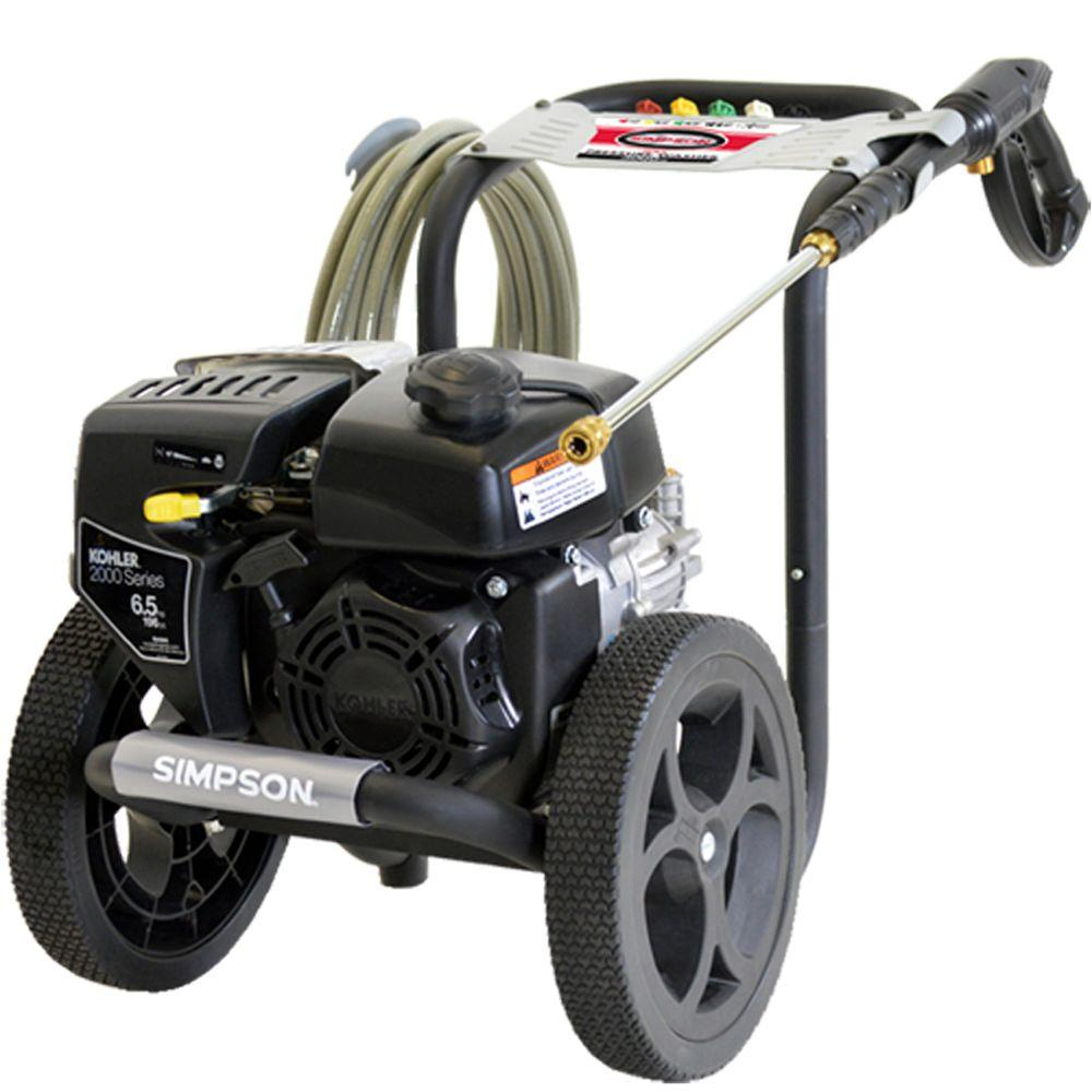 Simpson MegaShot 3,000 psi 2.4 GPM Gas Pressure Washer Powered by