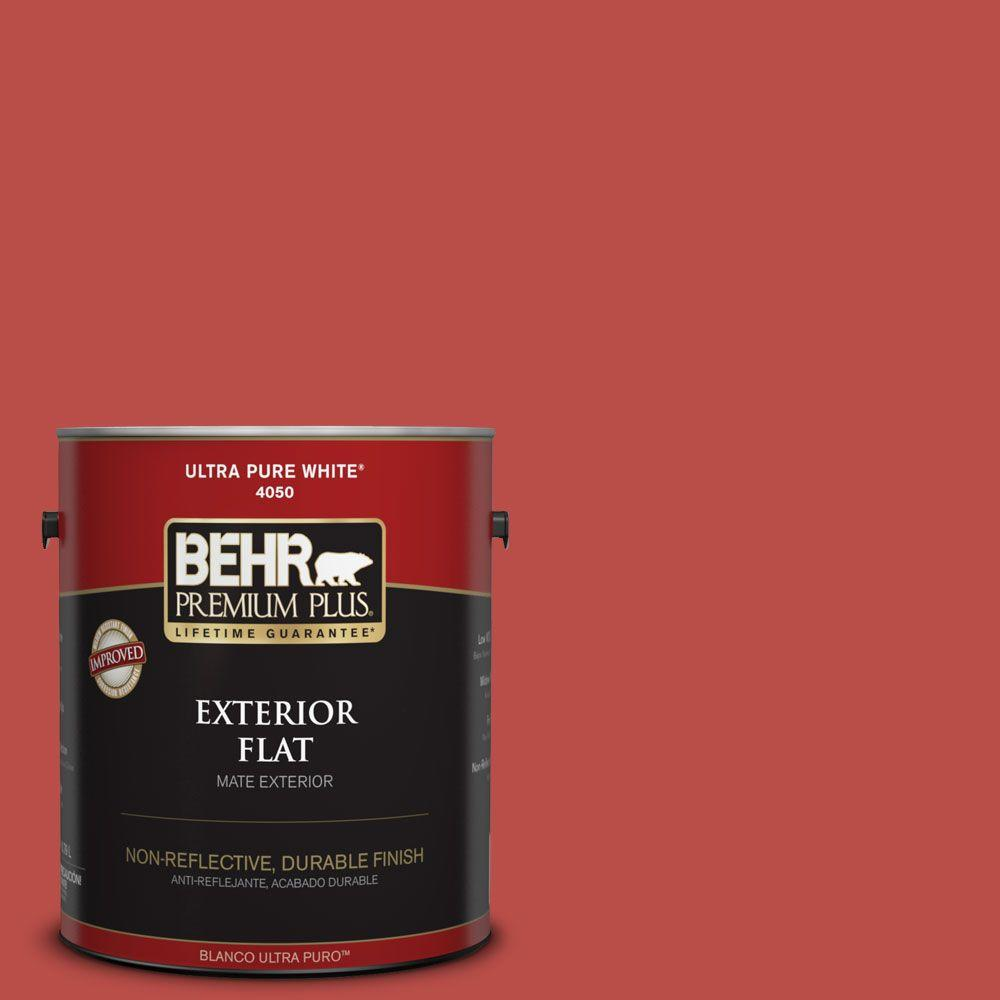 BEHR Premium Plus Home Decorators Collection 1-gal. #HDC-MD-16 Cherry Red Flat