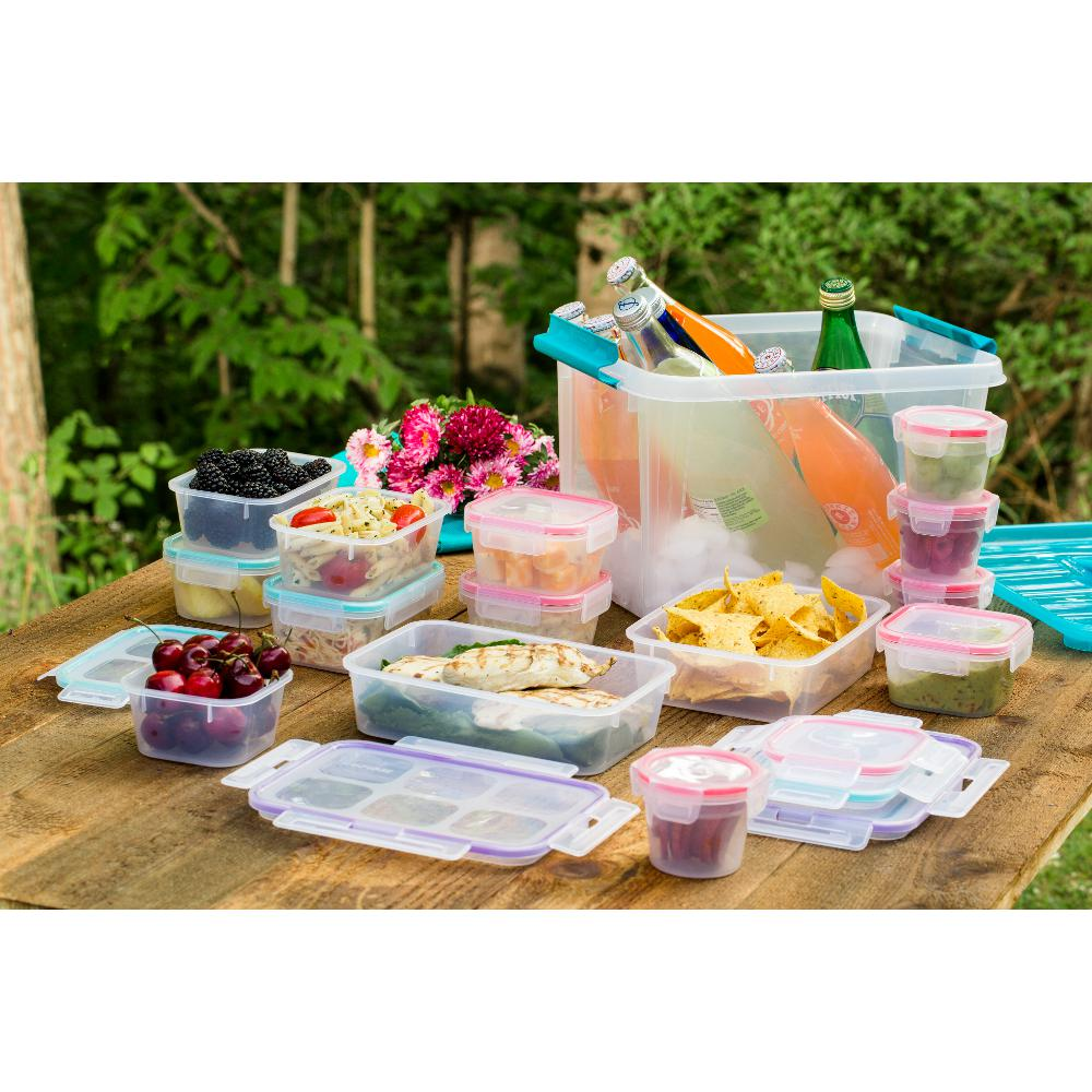 30-Piece Airtight Plastic Food Storage Set