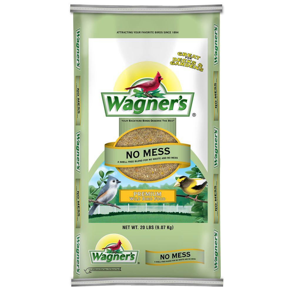 Wagner's 20 lb. No Mess Premium Wild Bird Food-62076 - The
