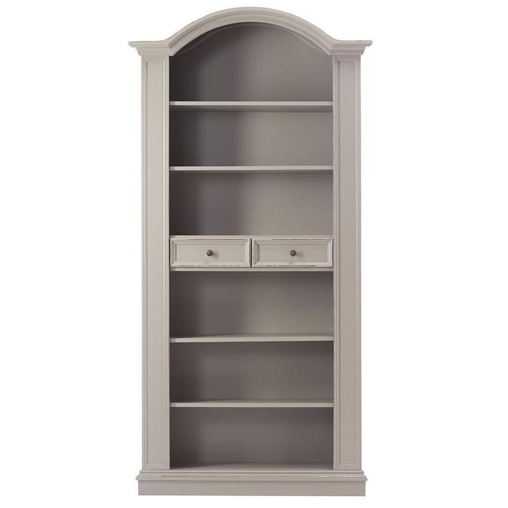 Home Decorators Collection Christina Grigio Carmine 6-Shelf Open Bookcase