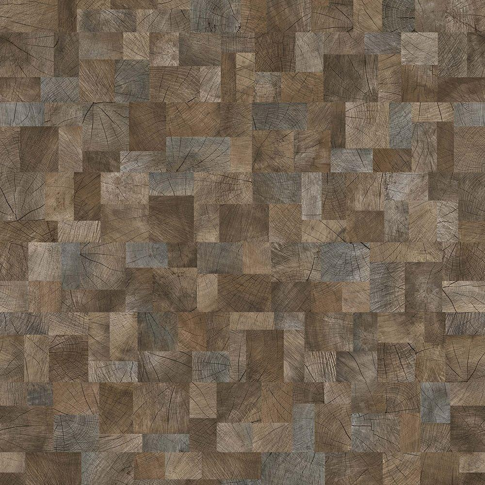 Dynamic Block Wood 8 mm Thick x 7-5/8 in. Wide x 54-5/16 in. Length Laminate Flooring (22.93 sq. ft. / case)