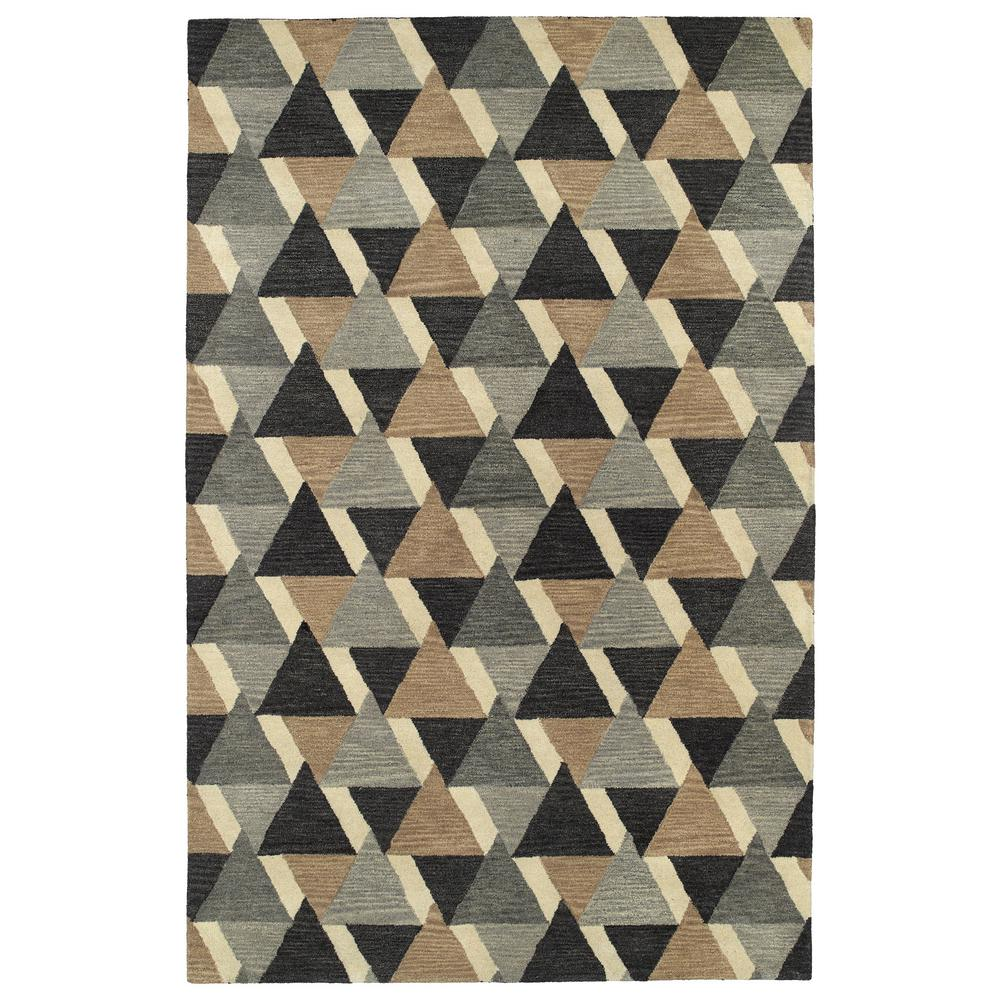 Art Tiles Charcoal 9 ft. 6 in. x 13 ft. Area