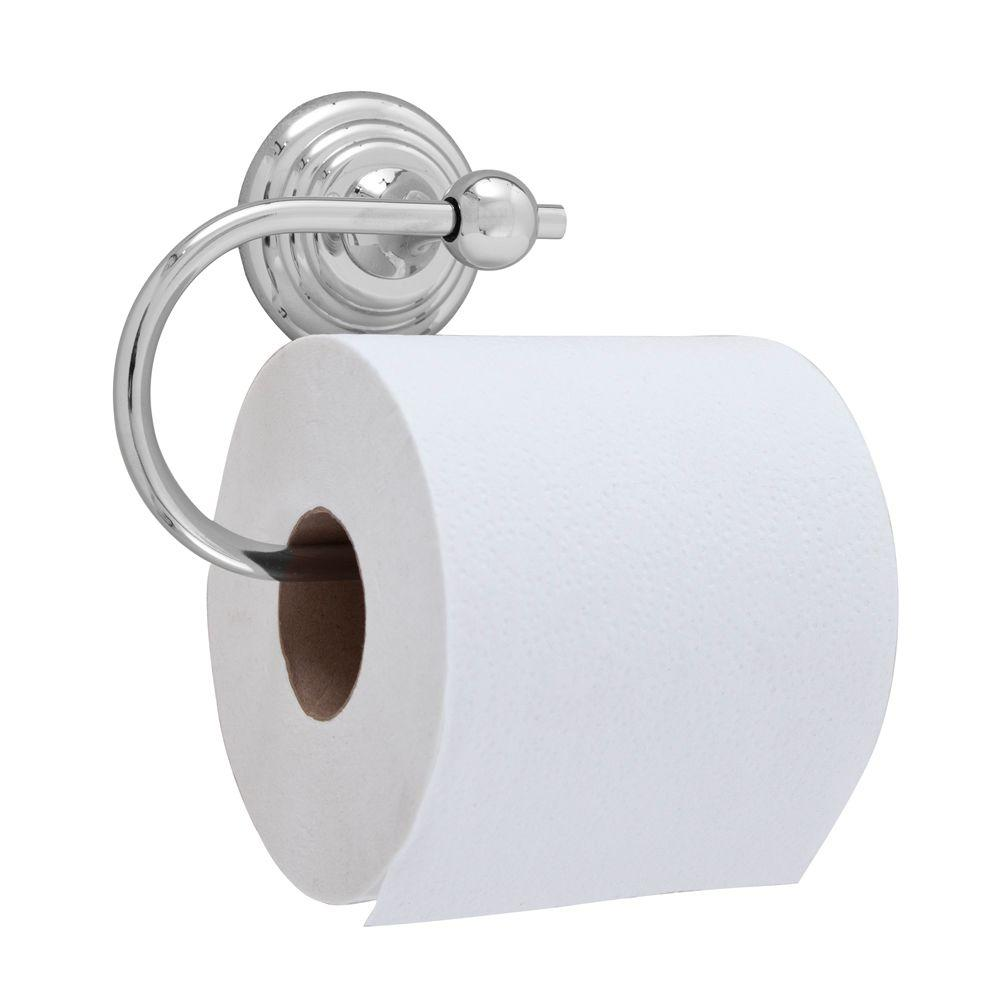 Barclay Products Jana Single Post Toilet Paper Holder in Chrome