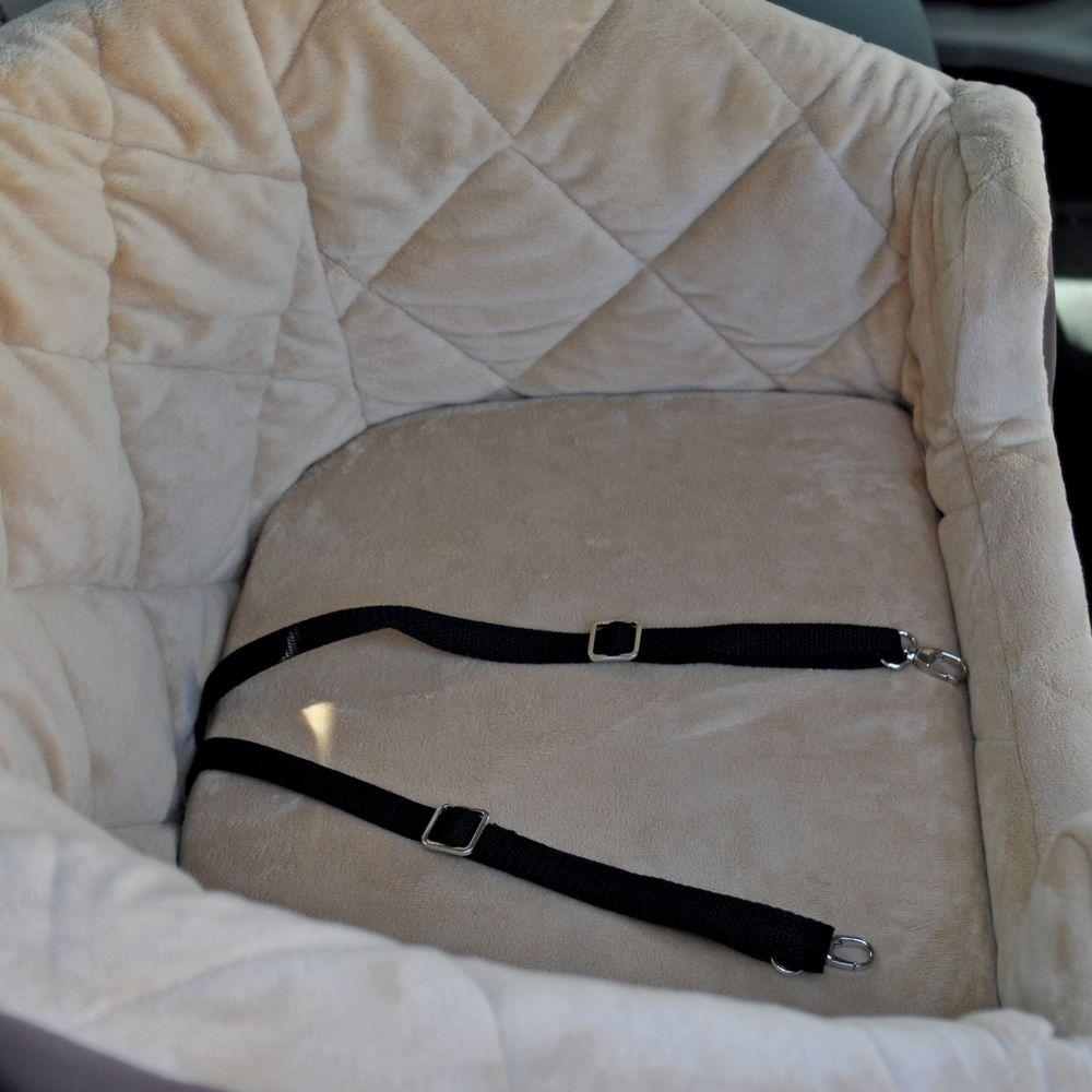 Bucket Booster Small Gray Pet Car Seat