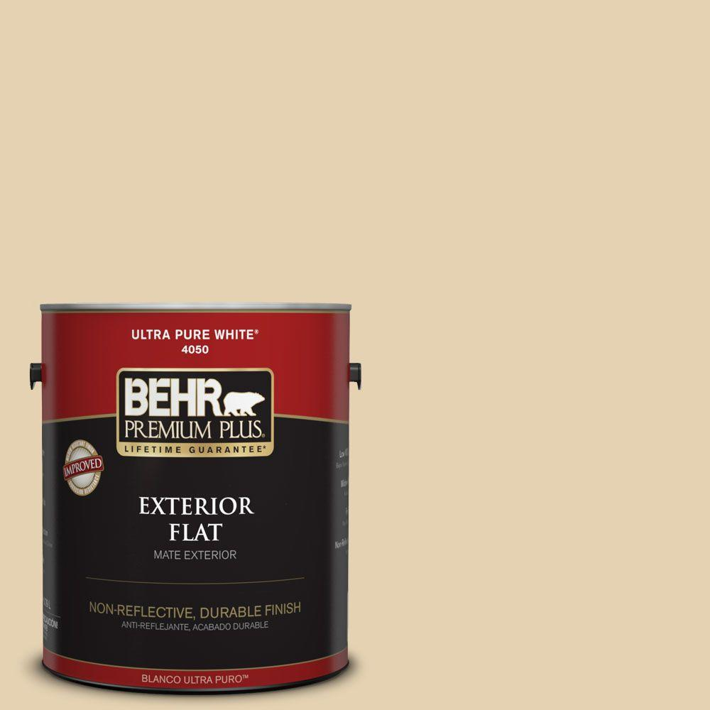 1-gal. #S310-2 Journal White Flat Exterior Paint