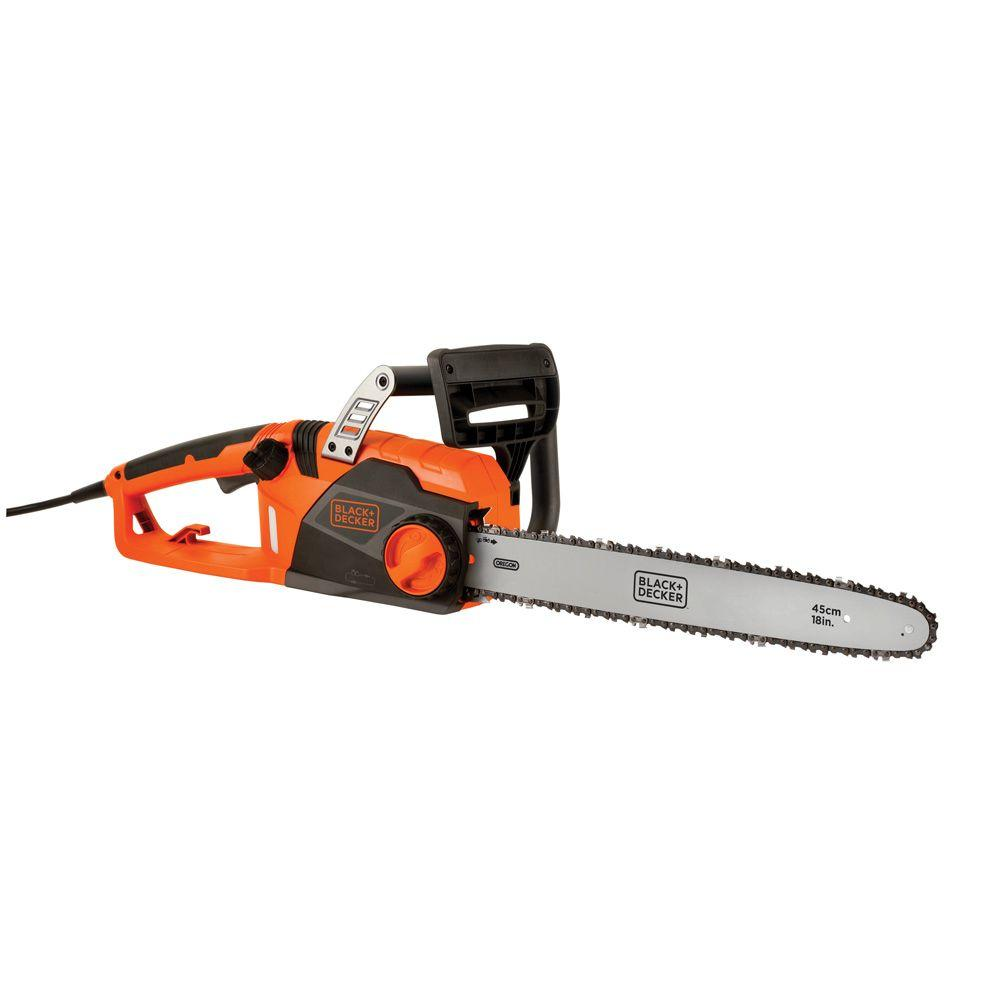 18 in. 15 Amp Electric Chainsaw