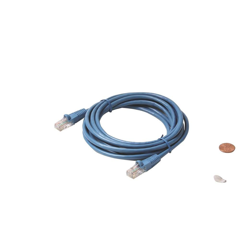 5 ft. Molded Cat5E UTP Patch Cord - Blue