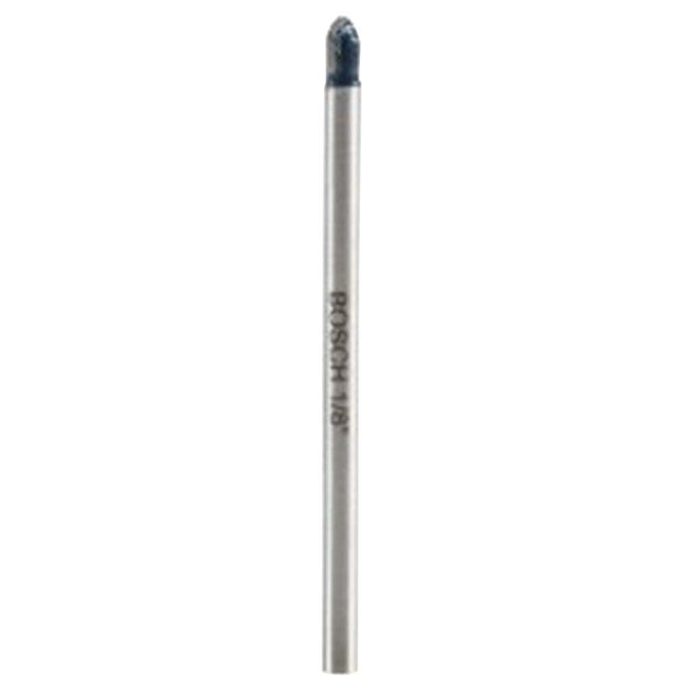 Bosch 1/8 in. Carbide Glass and Tile Bit