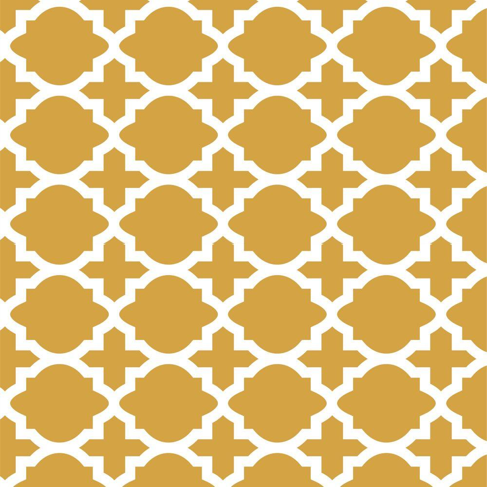 Stencil Ease 45 in. x 45 in. Meknes Wall Painting Stencil