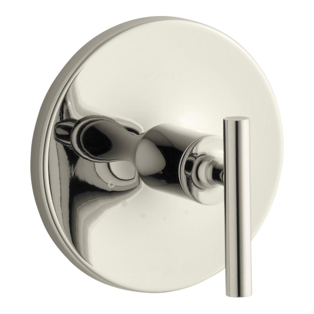 KOHLER Purist 1-Handle Thermostatic Valve Trim Kit in Vibrant Polished Nickel (Valve Not Included)