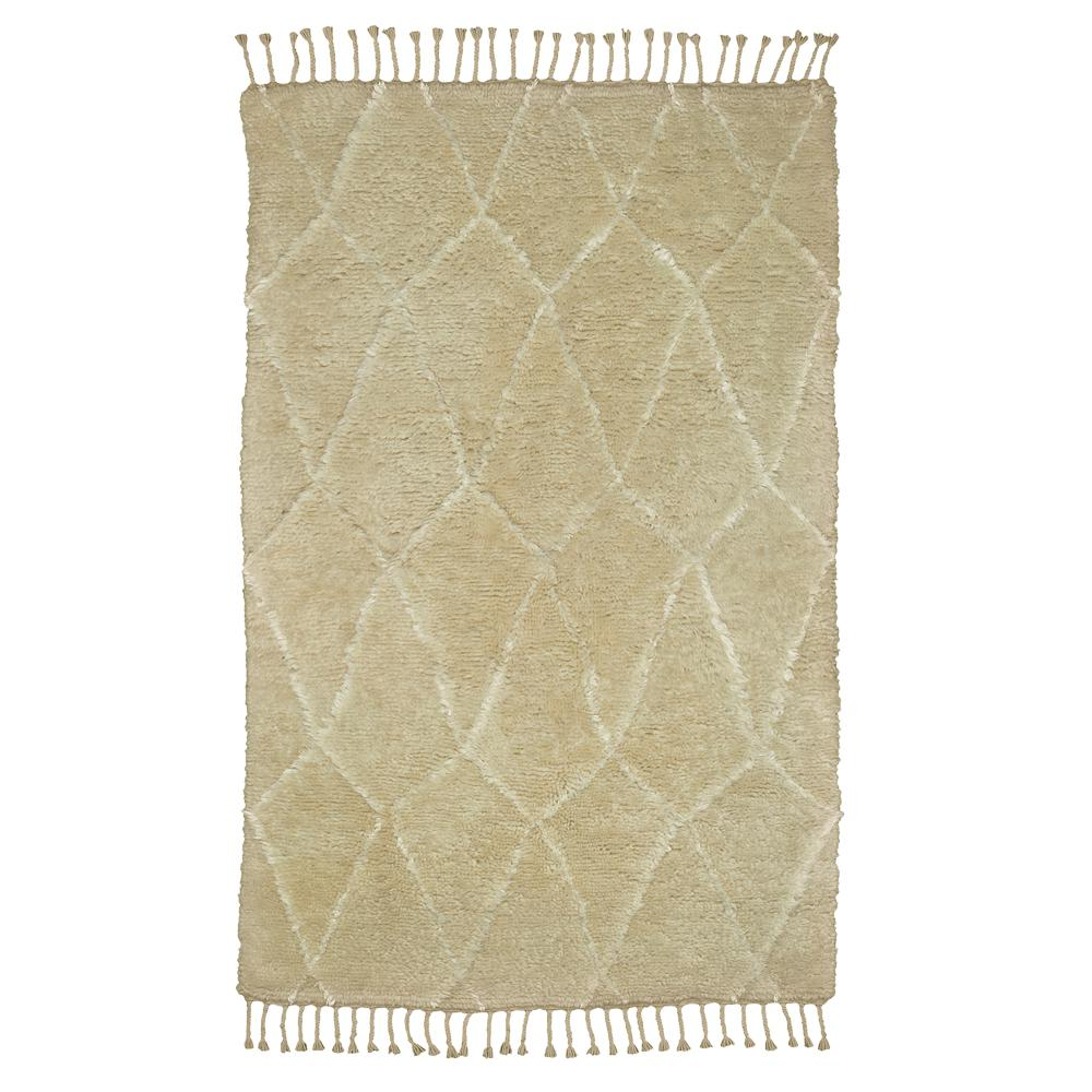 Moroccan Ivory 5 ft. 6 in. x 8 ft. 6 in.