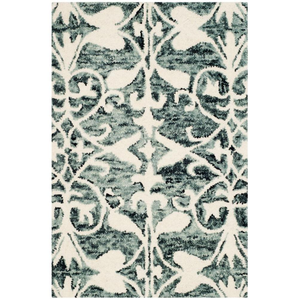 Chatham Charcoal/Ivory 2 ft. x 3 ft. Area Rug