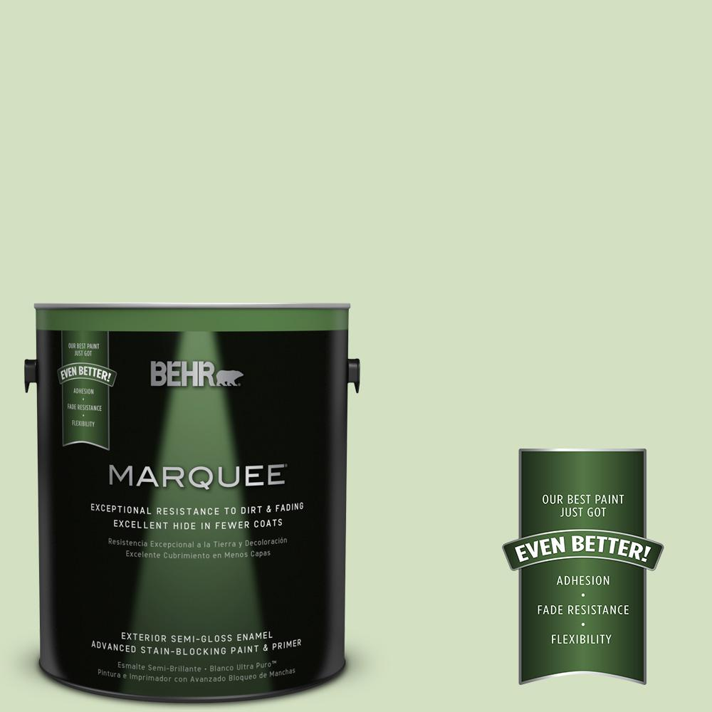 BEHR MARQUEE 1-gal. #P380-3 Irish Folklore Semi-Gloss Enamel Exterior Paint