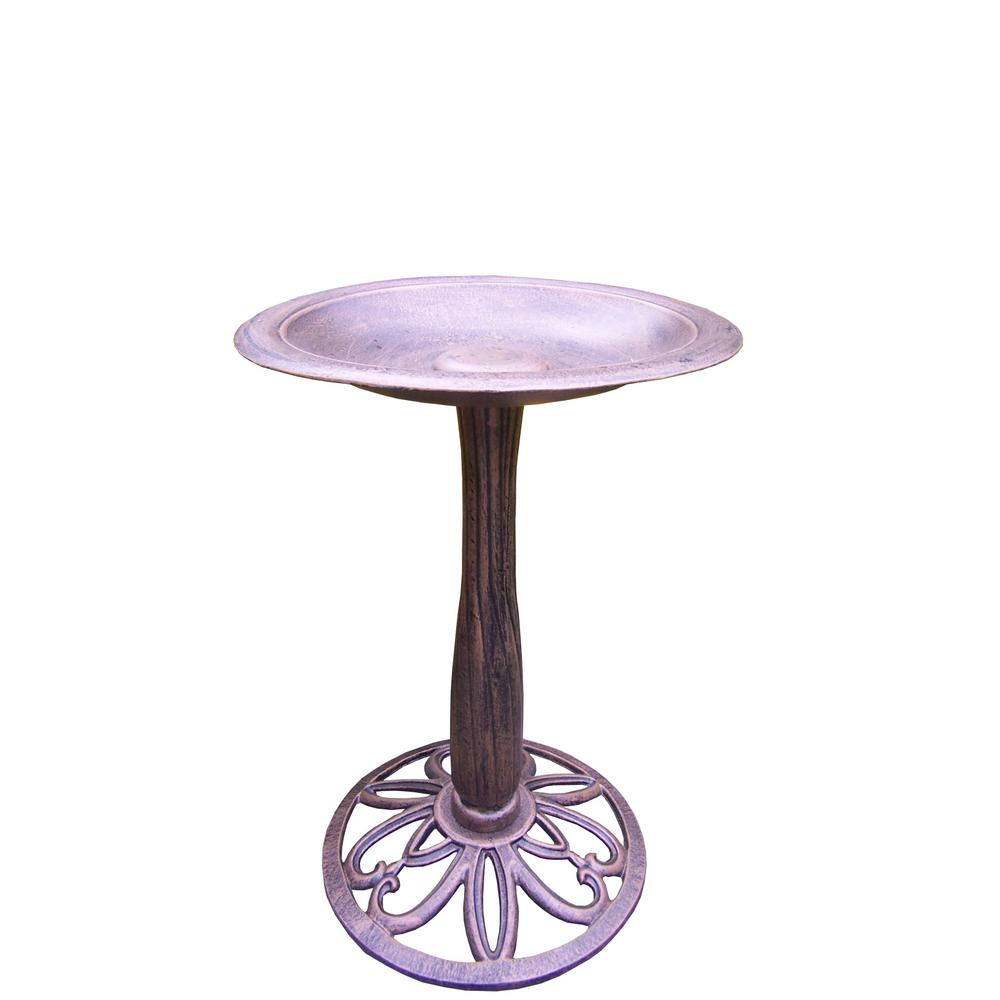 Upland Bird Bath-HD5991-AB - The Home Depot