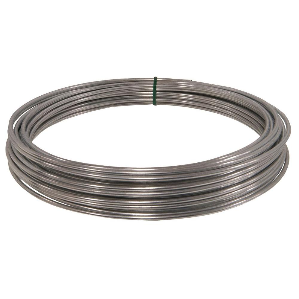 The Hillman Group 50 ft. 9-Gauge Multi-Purpose Wire-122062 - The Home