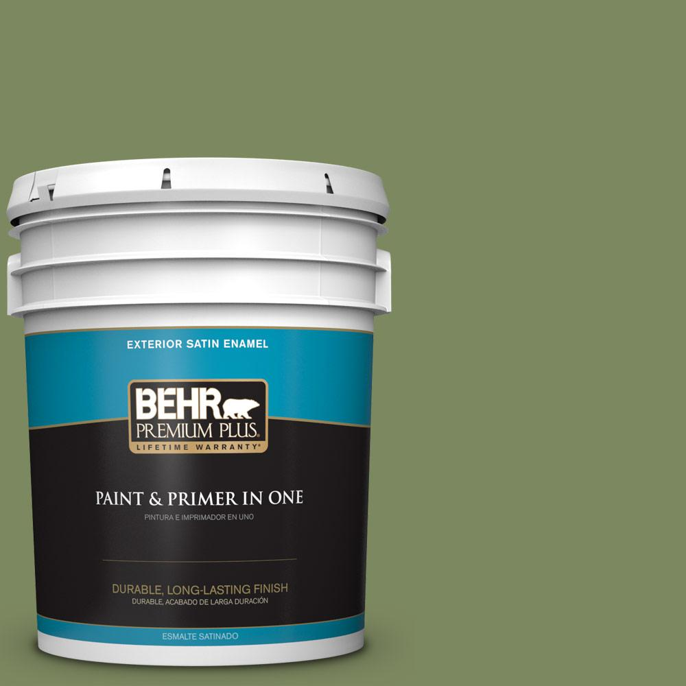 5 gal. #PPU10-02 Tuscany Hillside Satin Enamel Exterior Paint