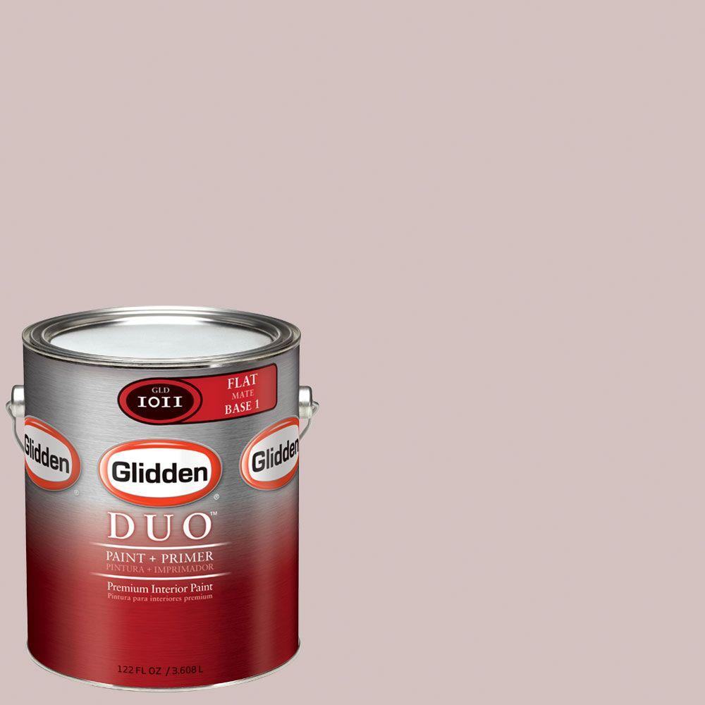 Glidden DUO Martha Stewart Living 1-gal. #MSL170-01F Gloaming Flat Interior Paint with Primer-DISCONTINUED