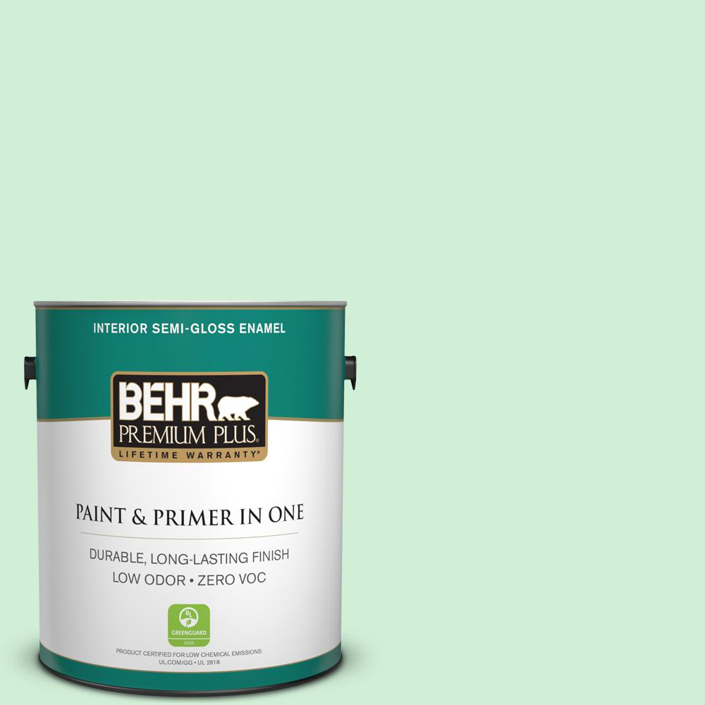 1-gal. #P400-2 End of the Rainbow Semi-Gloss Enamel Interior Paint