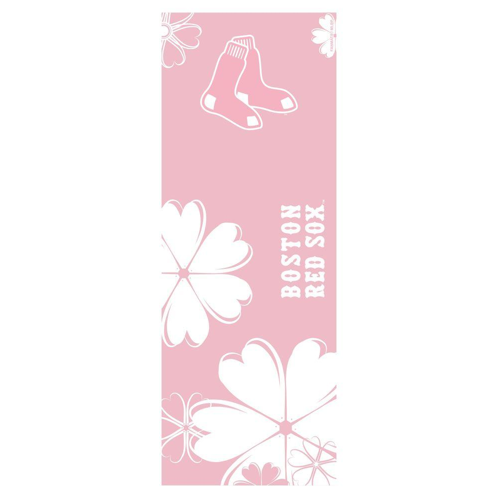 FANMATS Boston Red Sox 24 in. x 67.5 in. Yoga Mat-DISCONTINUED