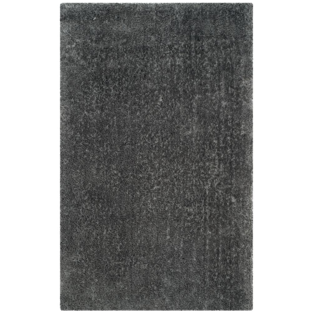Luxe Shag Gray 8 ft. x 10 ft. Area Rug