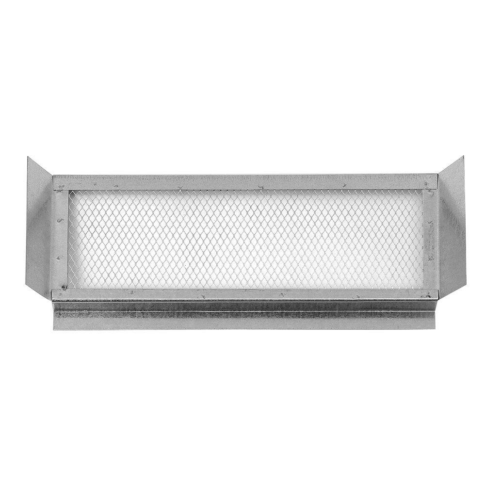 Construction Metals 14 in. x 5 in. Galvanized Eave Vent
