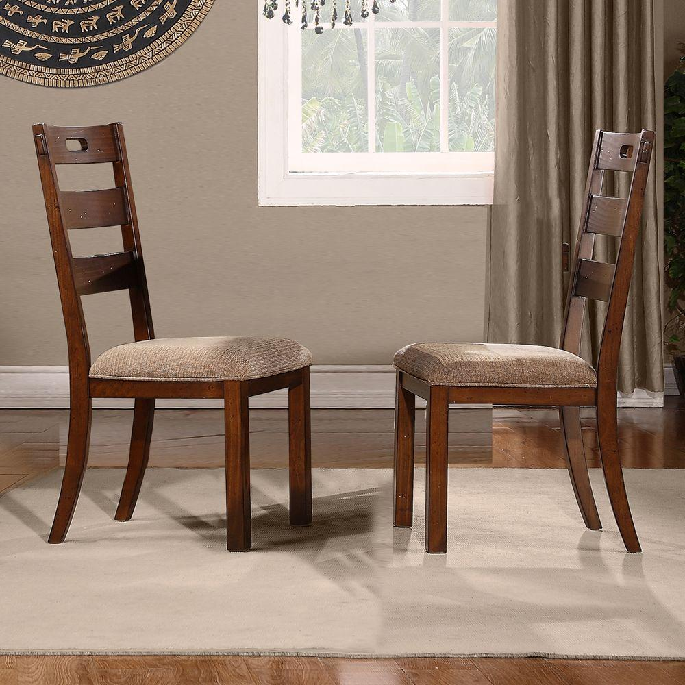 Oak Dining Chair: Home Styles Rubbed White Wood Double X-Back Dining Chair