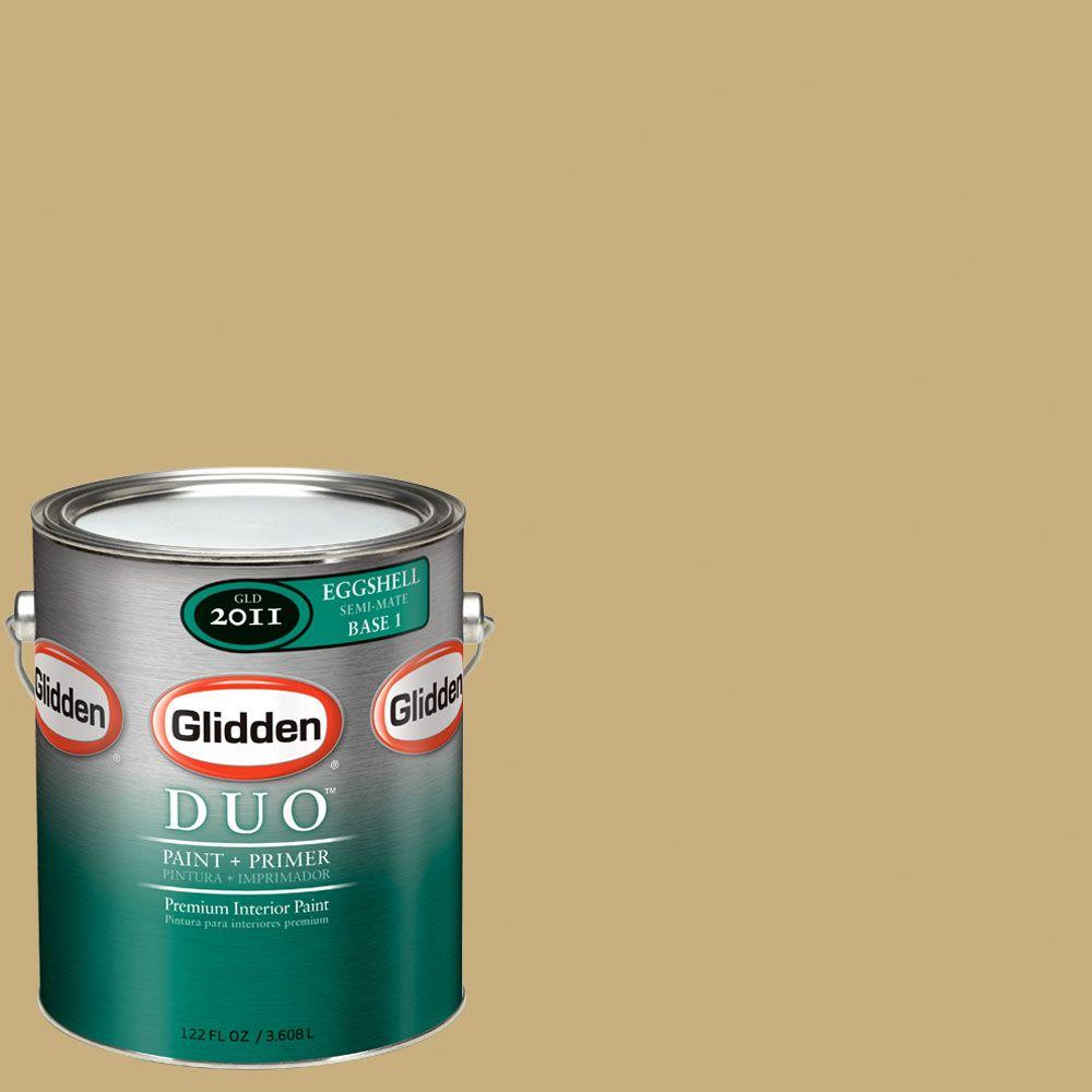 Glidden DUO Martha Stewart Living 1-gal. #MSL073-01E Dried Chamomile Eggshell Interior Paint with Primer-DISCONTINUED