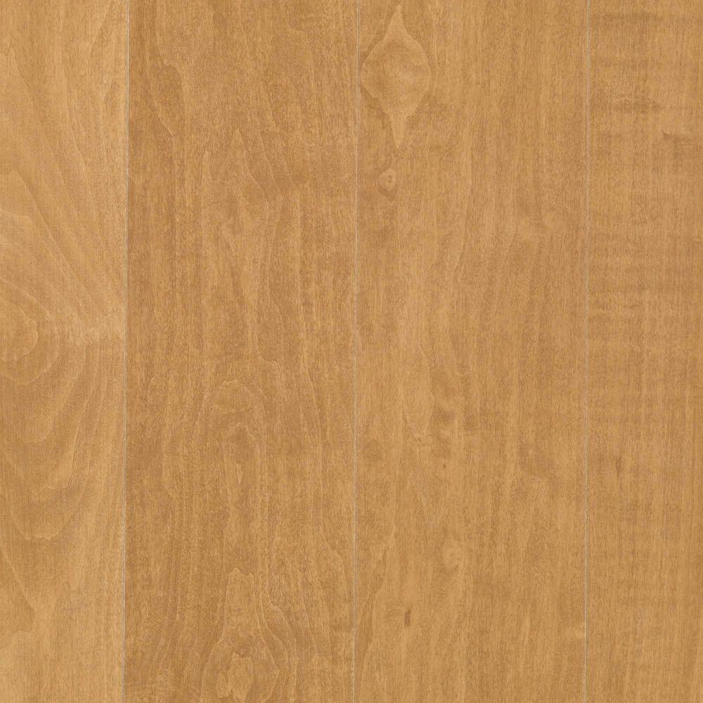 Farmstead Maple Laminate Flooring - 5 in. x 7 in. Take Home Sample, Light