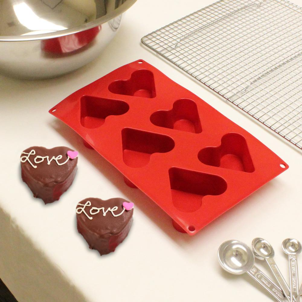 Heart Silicone Baking Mold