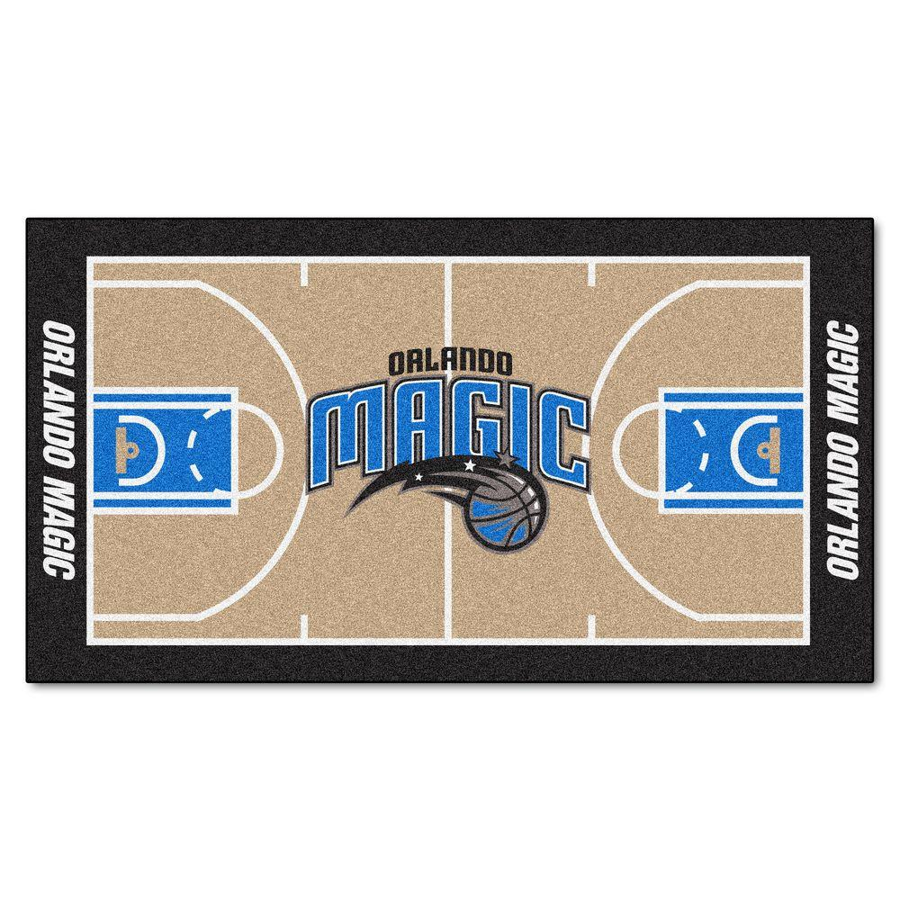 FANMATS Orlando Magic 2 ft. 6 in. x 4 ft. 6