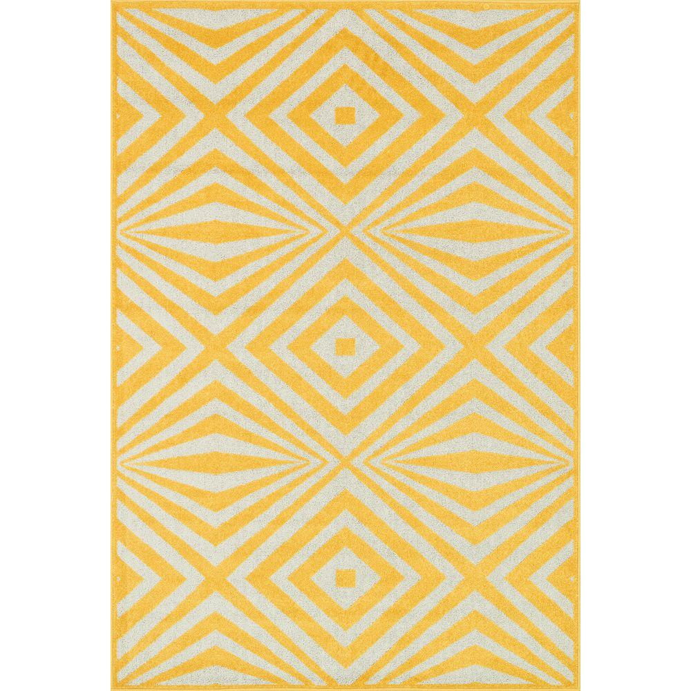 Loloi Rugs Catalina Lifestyle Collection Lemon/Ivory 3 Ft