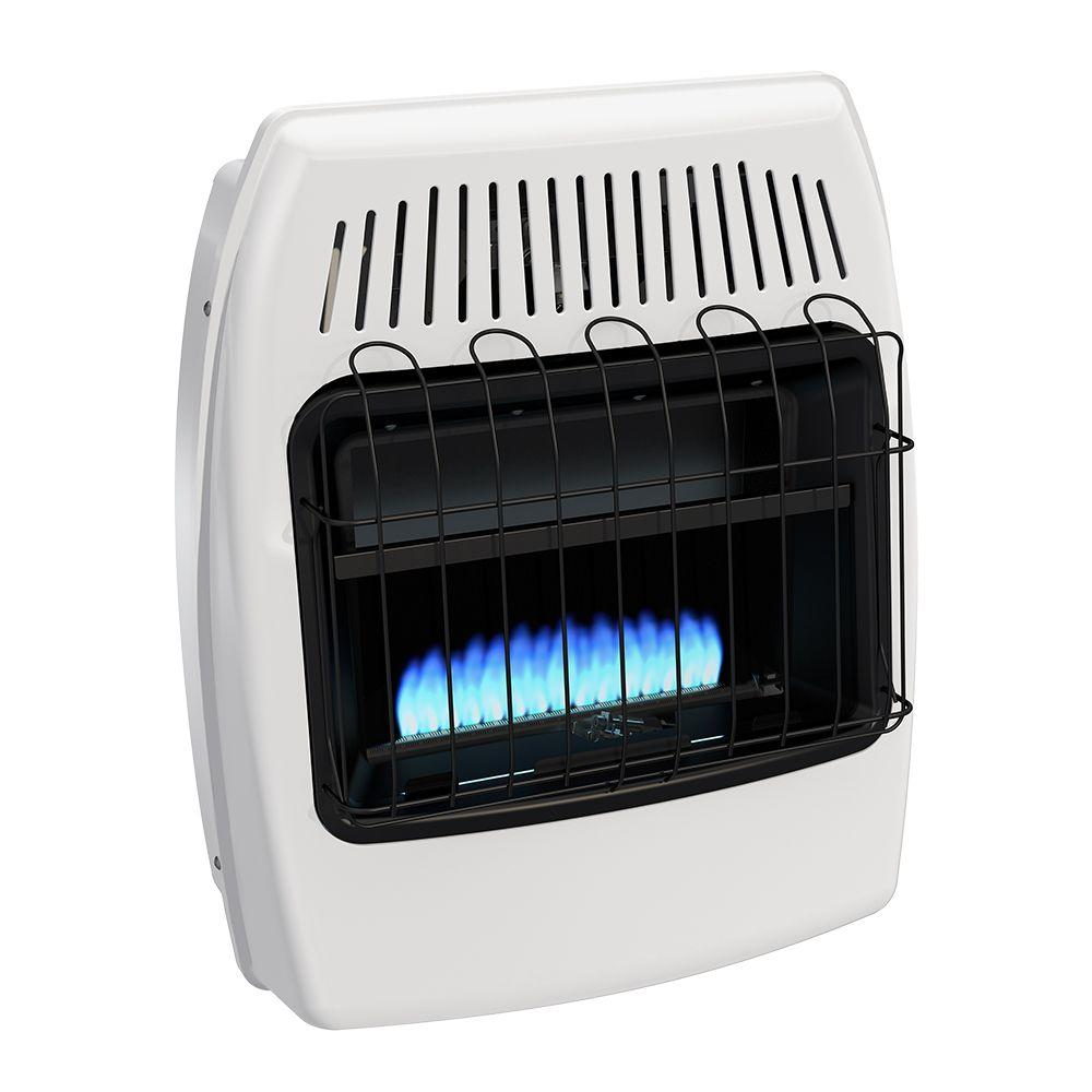 Dyna-Glo 20,000 BTU Blue Flame Vent Free Natural Gas Wall ...