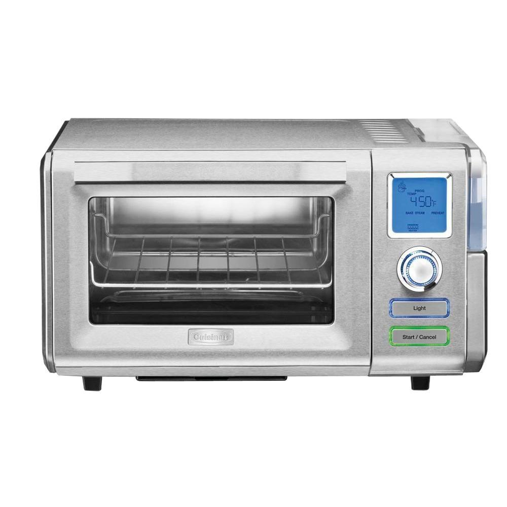 Cuisinart 0.60 cu. ft. Combo Steam and Convection Oven in Silver