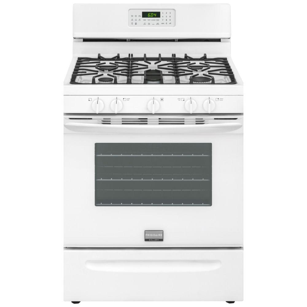 Frigidaire Gallery 30 in. 5.0 cu. ft. Gas Range with Self-Cleaning ...