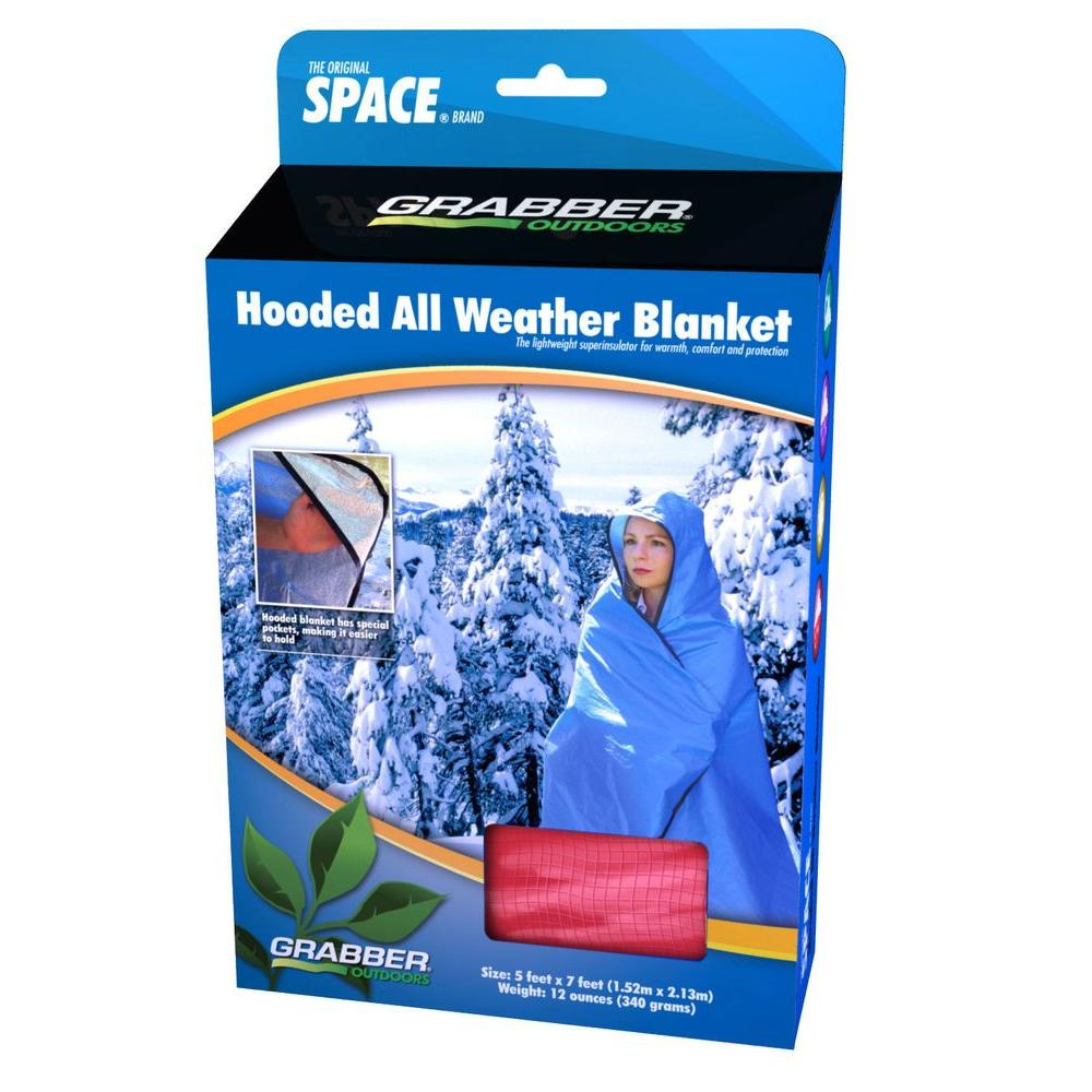 Hooded All weather Blanket Red