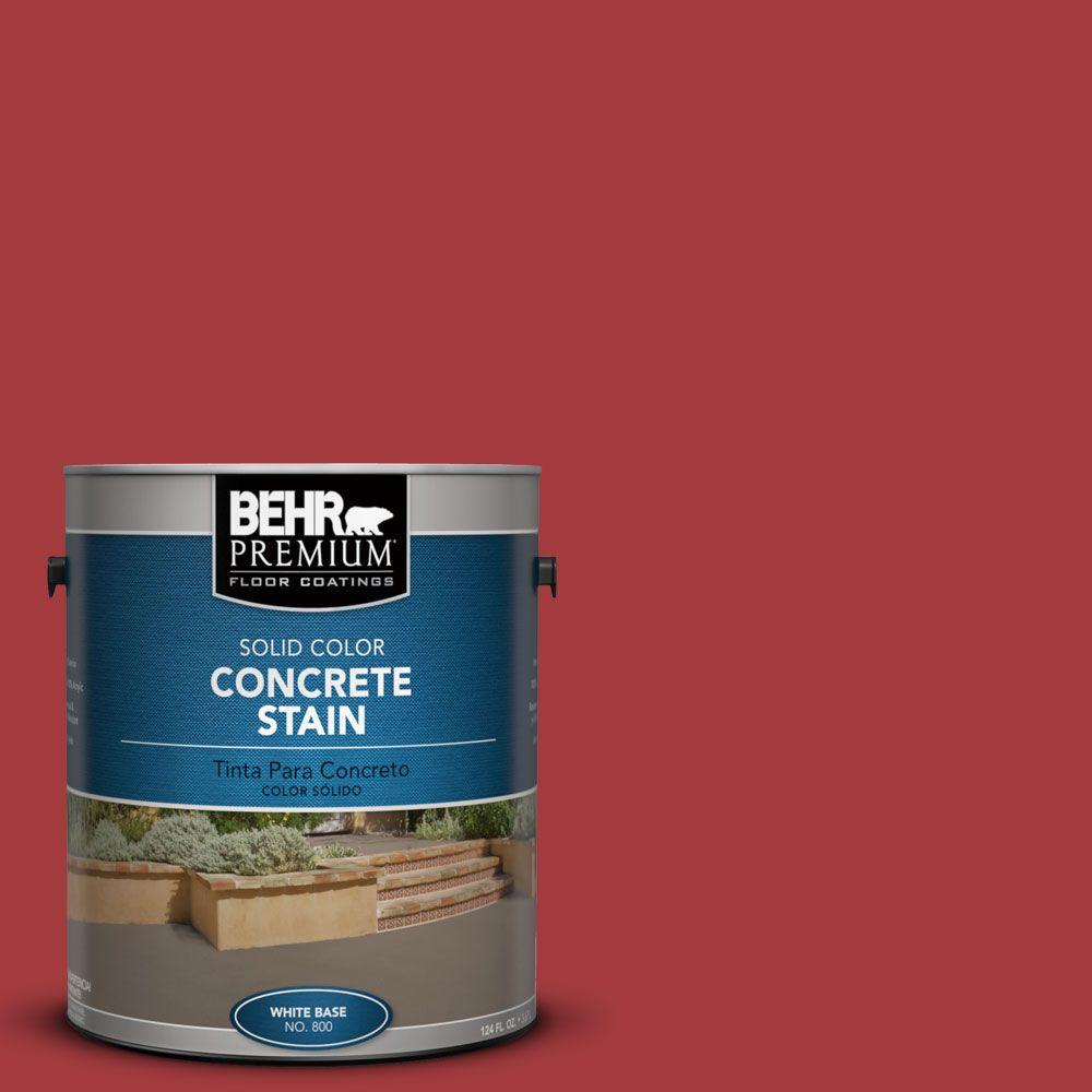 1 gal. #PFC-03 Red Baron Solid Color Concrete Stain