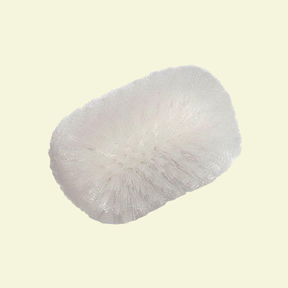 Carlisle 5-1/2 in. x 9 in. White Kettle Brush (12-Pack)-4004302 -