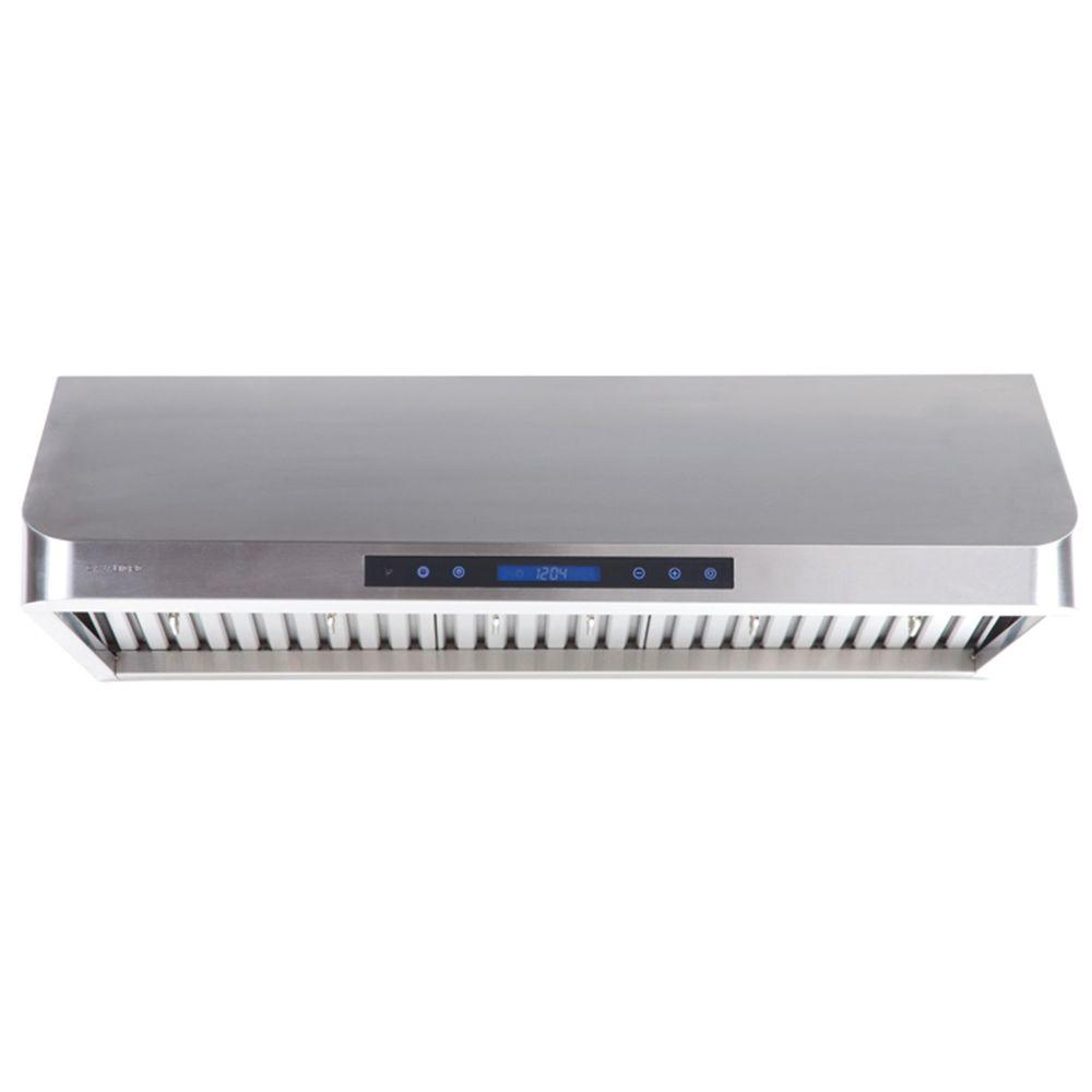 Cavaliere 36 in. Range Hood in Stainless Steel-AP238-PS15-36 - The Home
