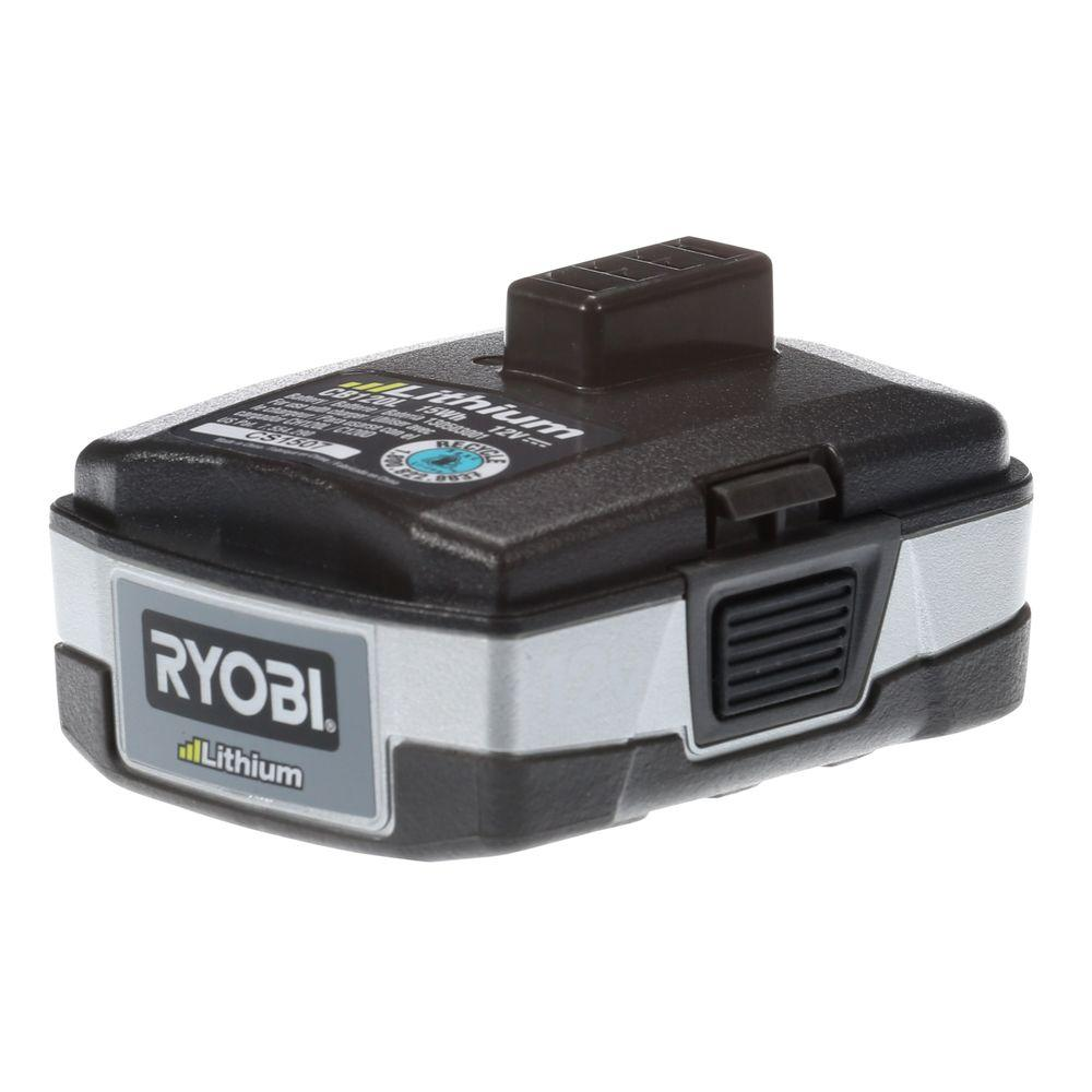 Ryobi 12-Volt Lithium-Ion Rechargeable Battery