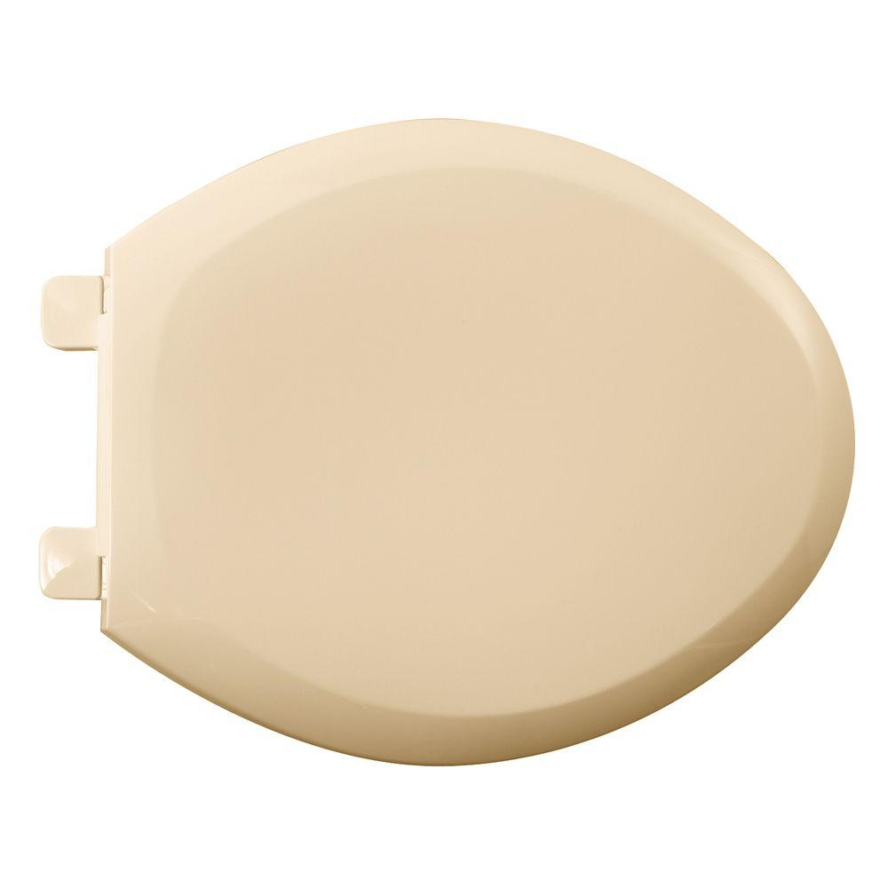 Cadet 3 Slow-Close Elongated Closed Front Toilet Seat in Bone